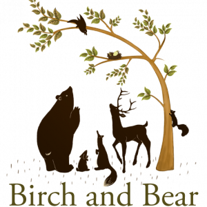 Birch and bear