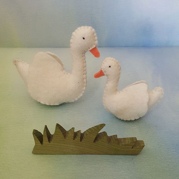 Birch-Bear-Creatures-Swan-pair