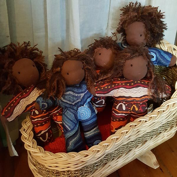 Birch Bear Indigenous Cuddle Doll Weefolk