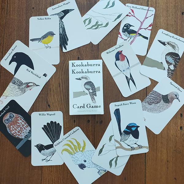 Books Kookaburra card game